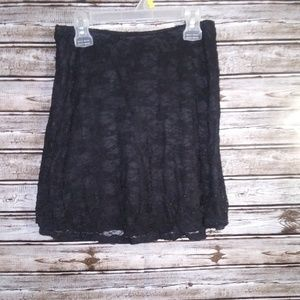 CATO BRAND SKIRT WITH LACE OVERLAY